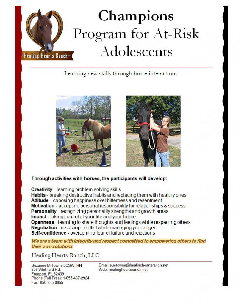 Champions – Program for At-Risk Adolescents
